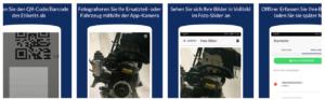 Bilderfassung mit der up2date Scanner-App für Android und iOS verfügbar